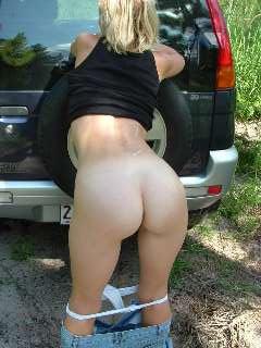 tight bikini ass